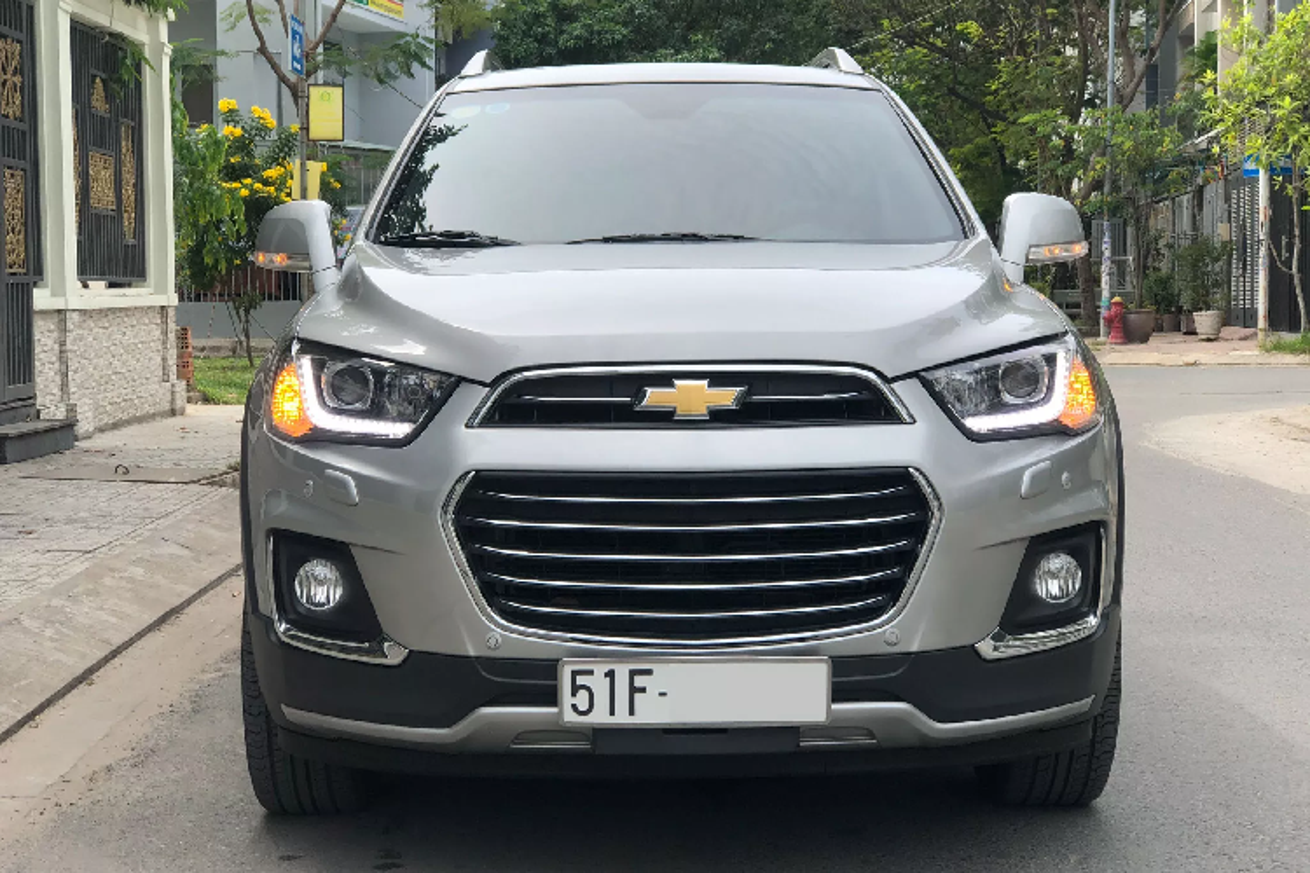 Co nen mua Chevrolet Captiva 2017 chi 650 trieu o Sai Gon?-Hinh-2