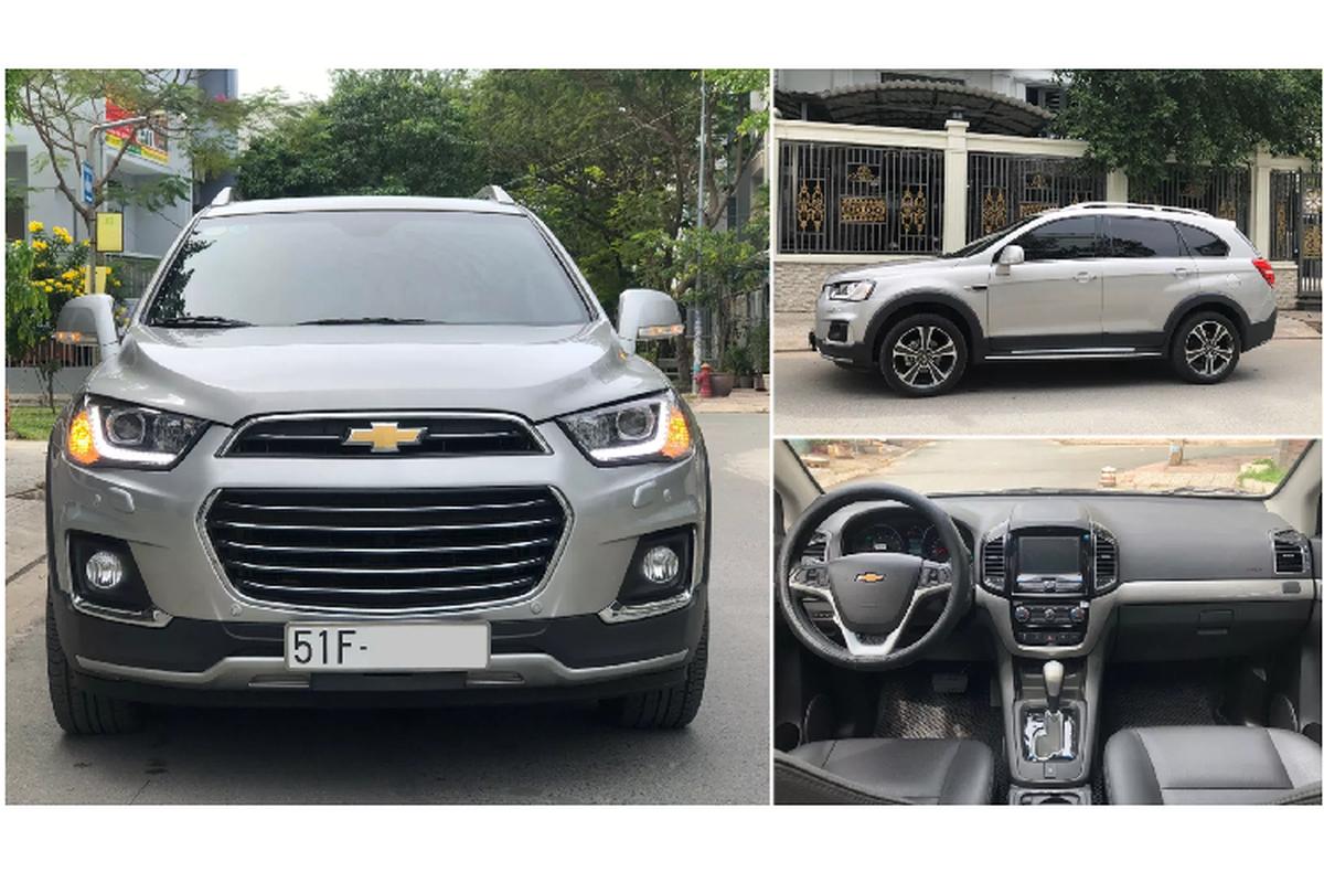 Co nen mua Chevrolet Captiva 2017 chi 650 trieu o Sai Gon?