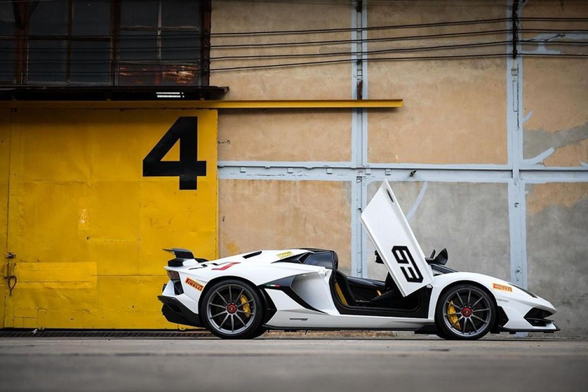 Lamborghini Aventador SVJ mui tran hon 37 ty dong tai Thai Lan-Hinh-3