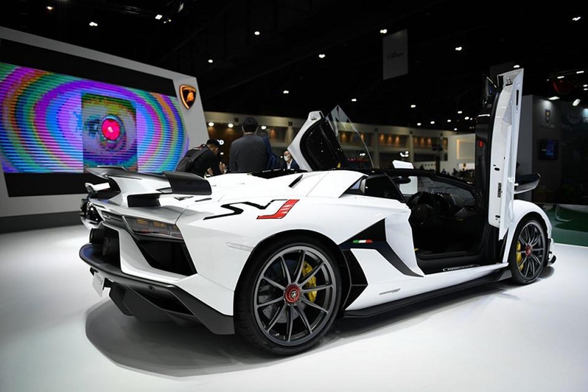 Lamborghini Aventador SVJ mui tran hon 37 ty dong tai Thai Lan-Hinh-4