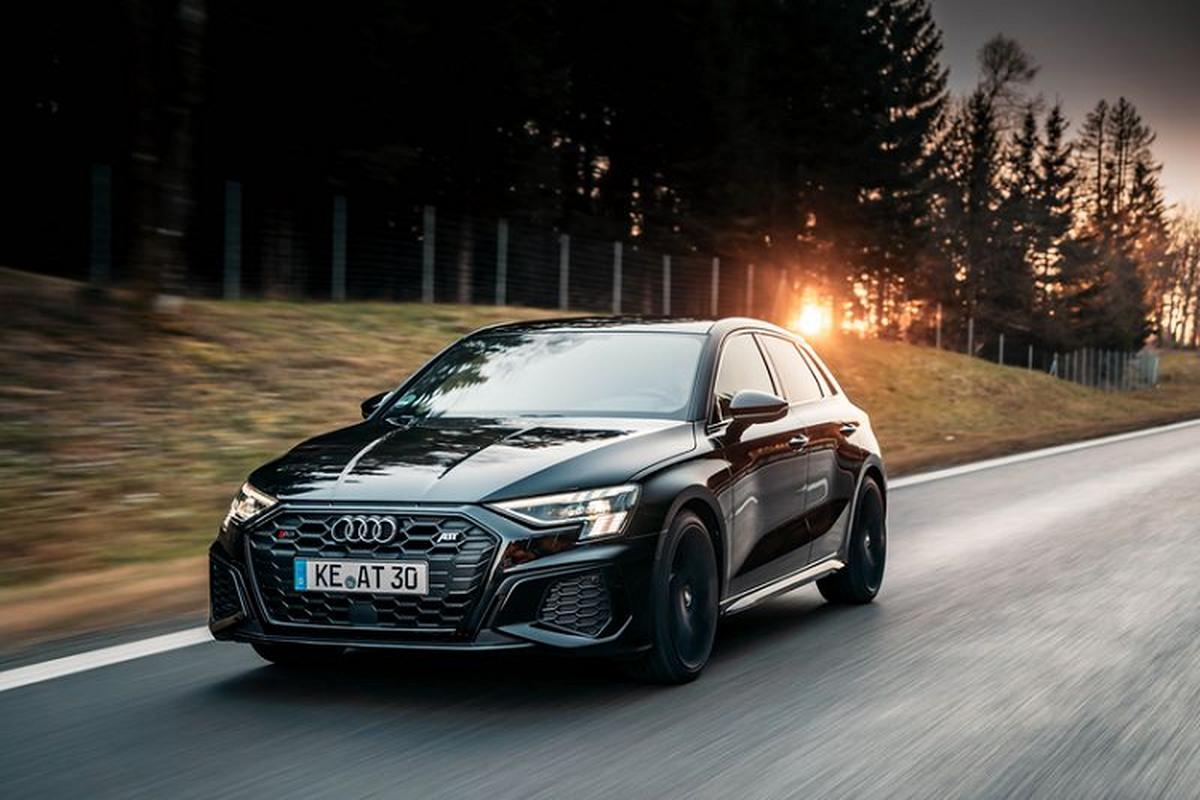 """Audi S3 Sportback 2021 """"nóng bỏng"""" với gói sức mạnh 365 mã lực"""