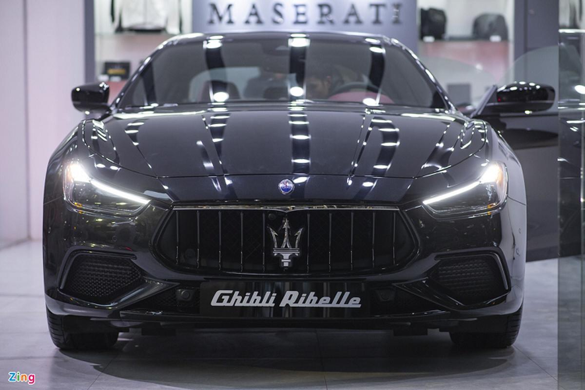 Maserati Ghibli ban dac biet, tien ty doc nhat Viet Nam-Hinh-2