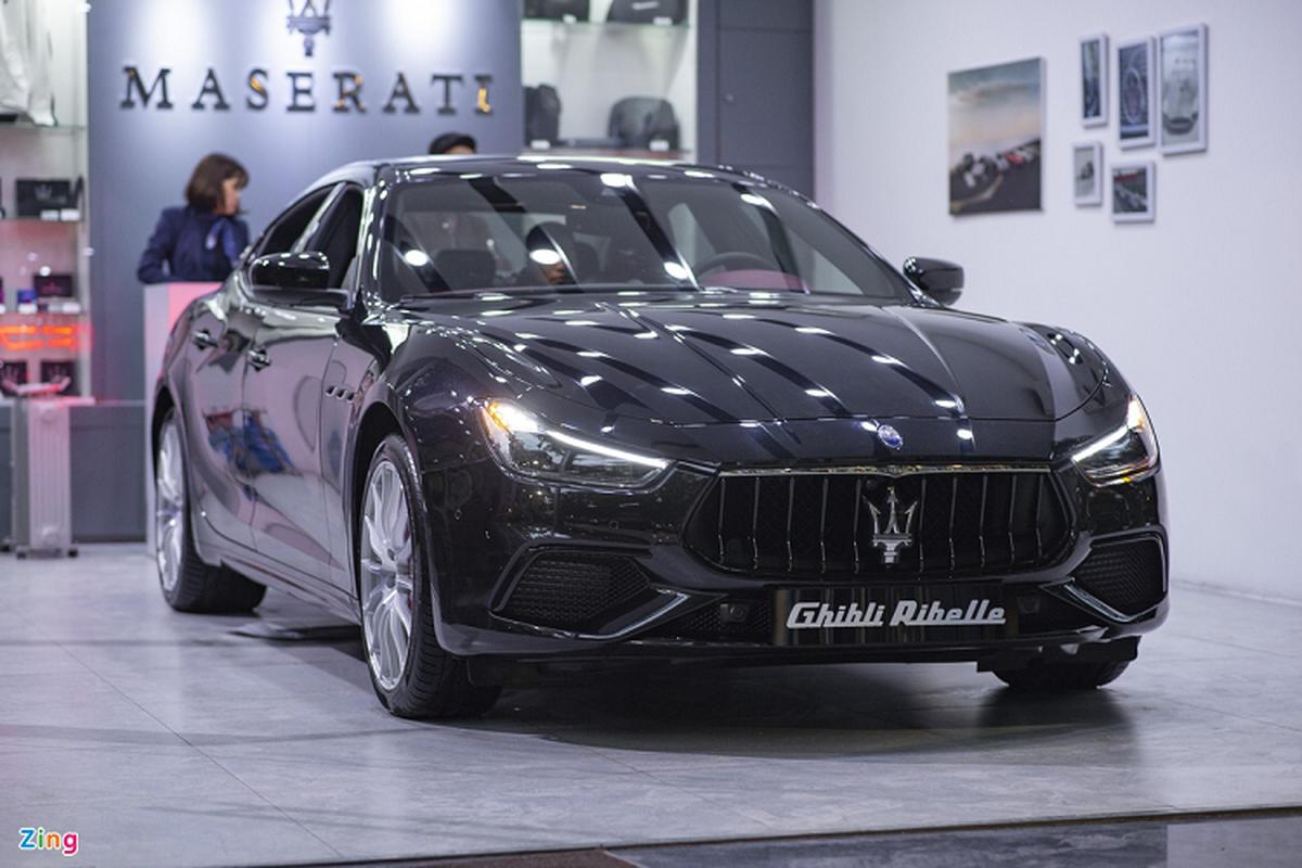 Maserati Ghibli ban dac biet, tien ty doc nhat Viet Nam