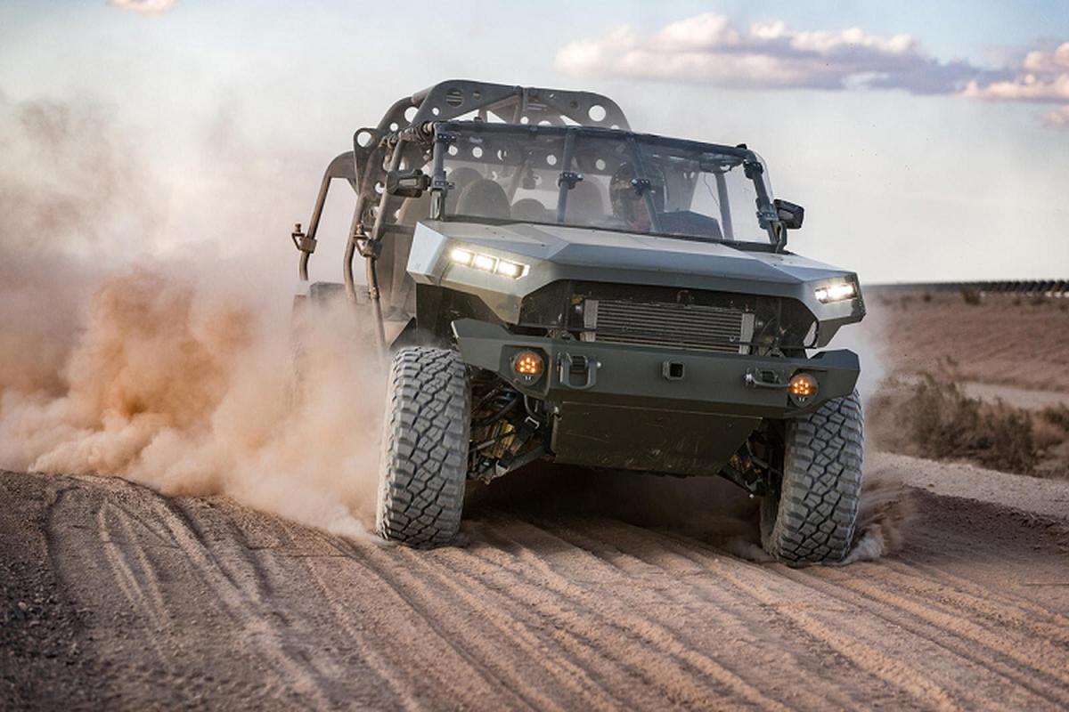 Ngắm xe chiến đấu GM của quân đội Mỹ từ Chevrolet Colorado
