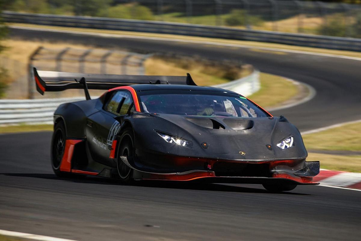 Sieu xe Lamborghini Huracan do phong cach xe dua 1.200 ma luc