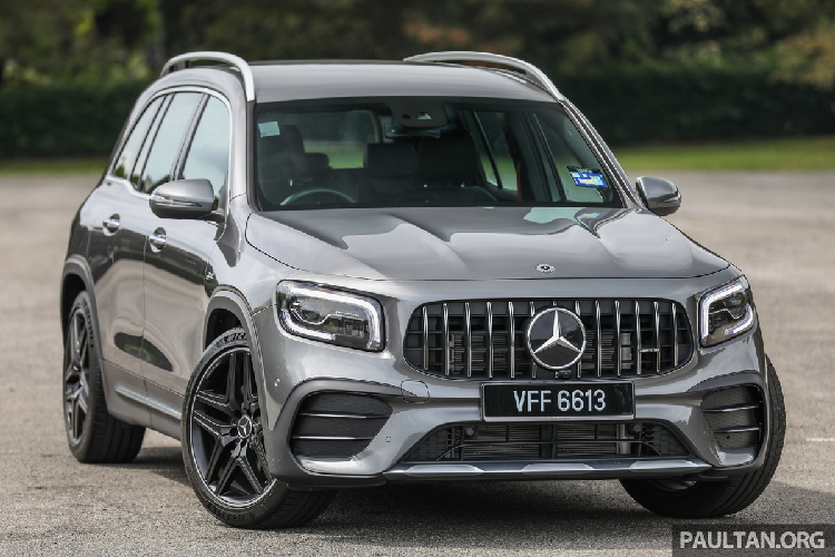 Soi Mercedes-AMG GLB 35 4Matic 2021 hon 2 ty dong tai Malaysia