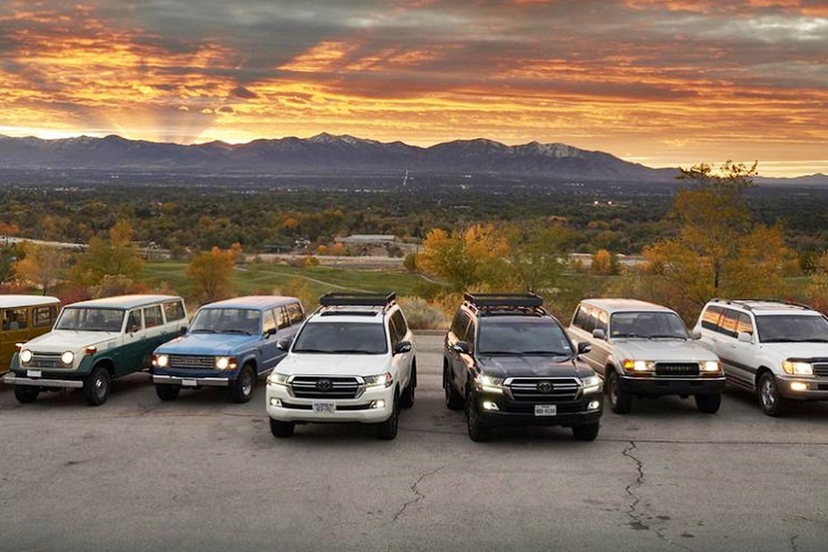 Toyota Land Cruiser se bi