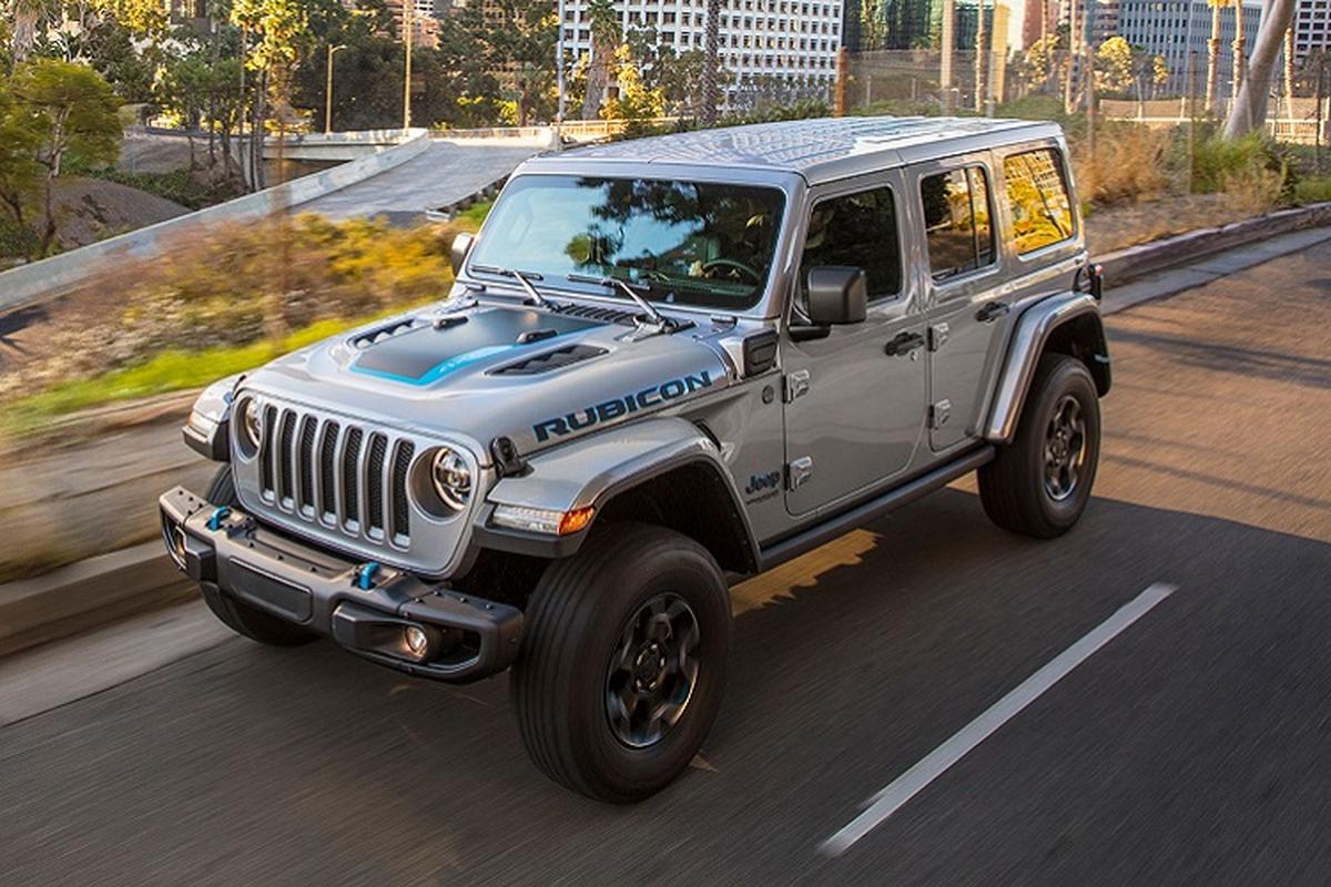 Jeep Wrangler 4xe Rubicon 2021 hon 1,1 ty dong tai My