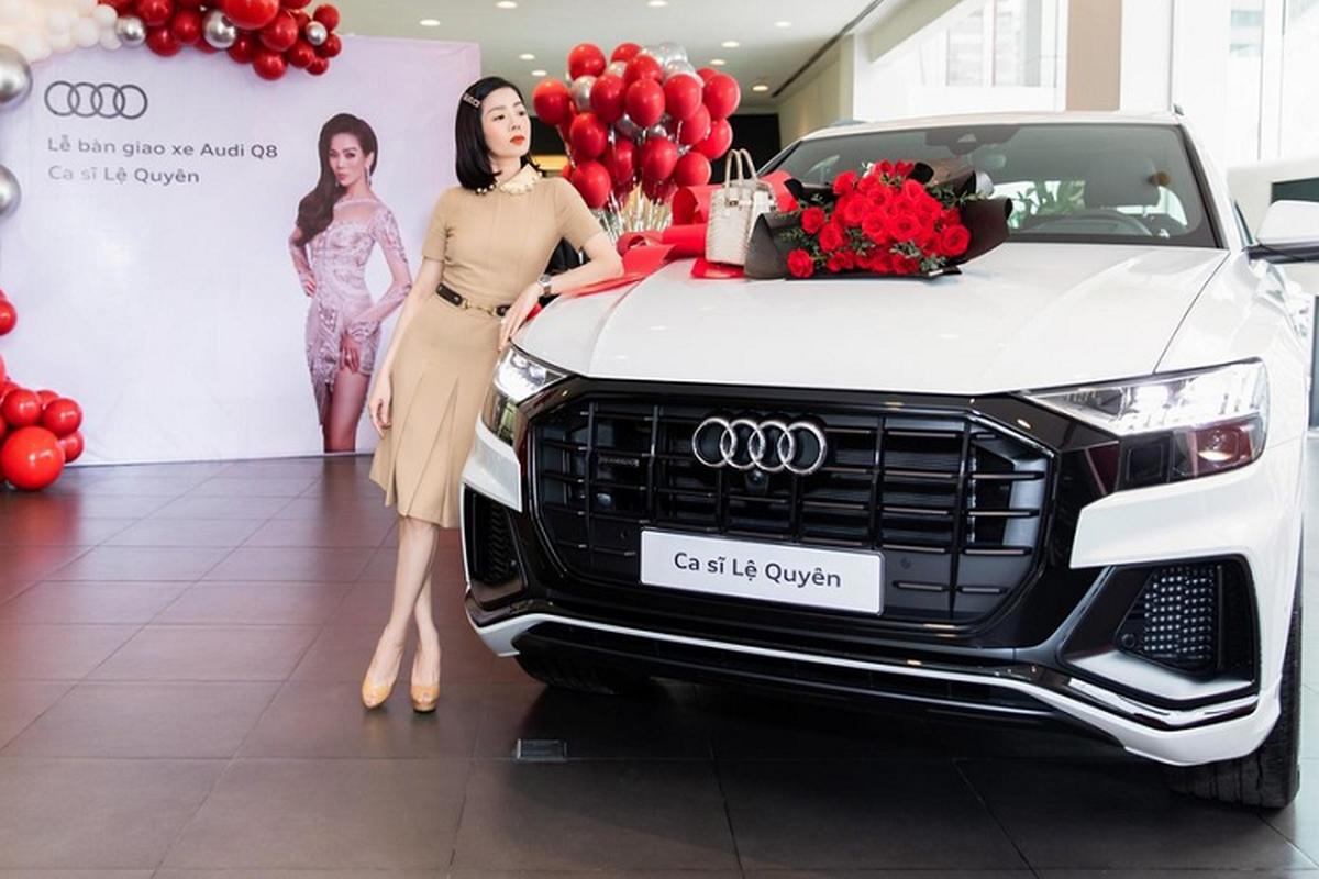 Le Quyen tau SUV hang sang Audi Q8 chinh hang hon 5 ty dong-Hinh-2