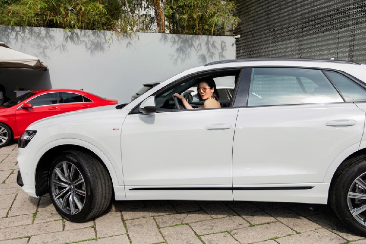 Le Quyen tau SUV hang sang Audi Q8 chinh hang hon 5 ty dong-Hinh-3
