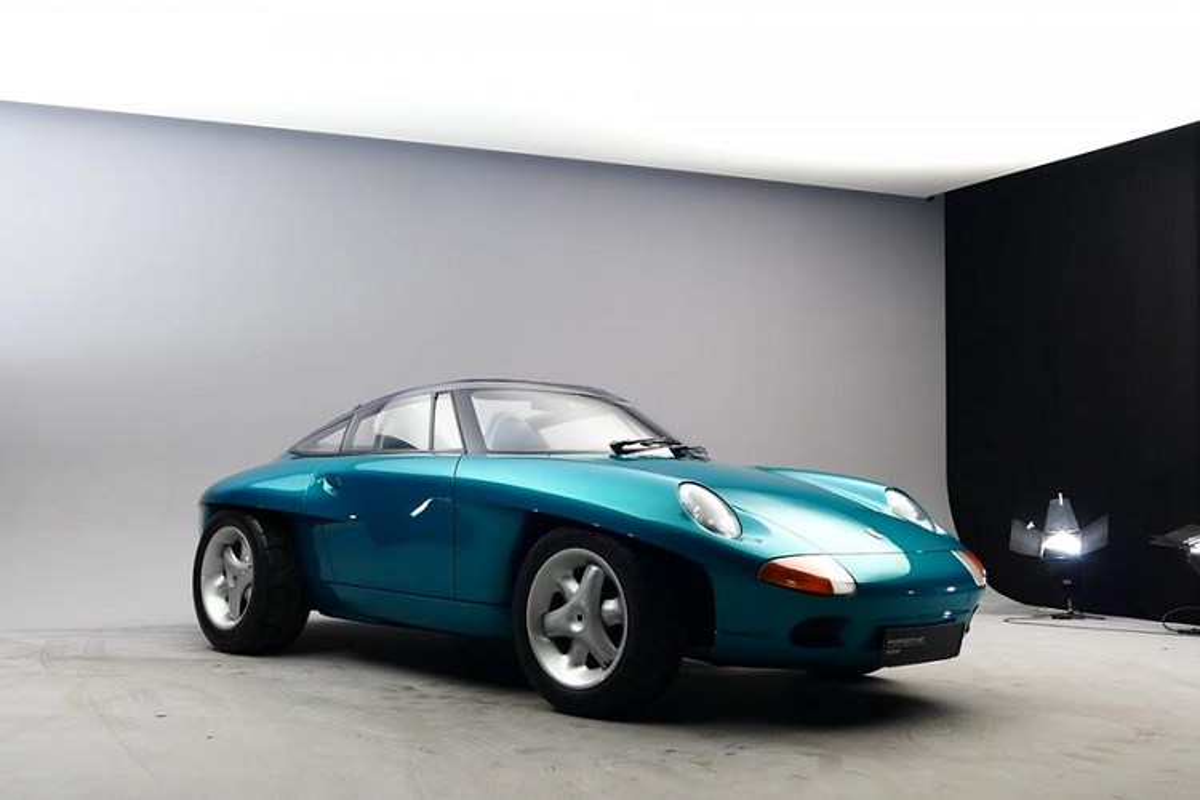 Porsche Panamericana - concept 911 tao bao suyt duoc san xuat