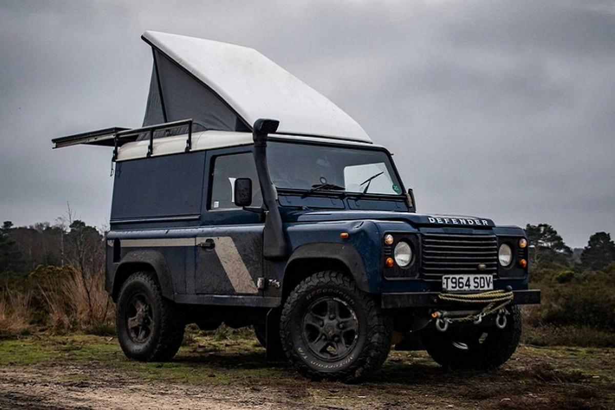 Land Rover Defender co dien