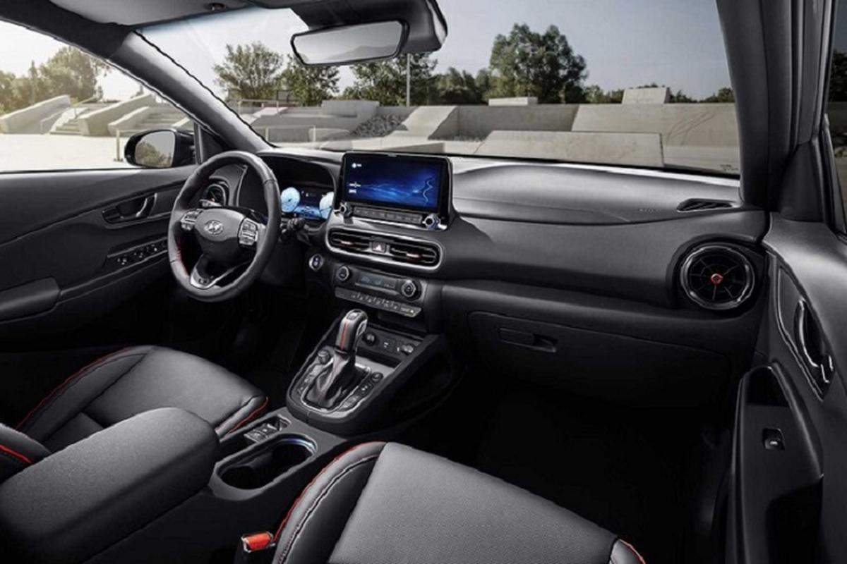 Hyundai Kona 2022 duoc trang bi nhung gi de dau Kia Seltos?-Hinh-6