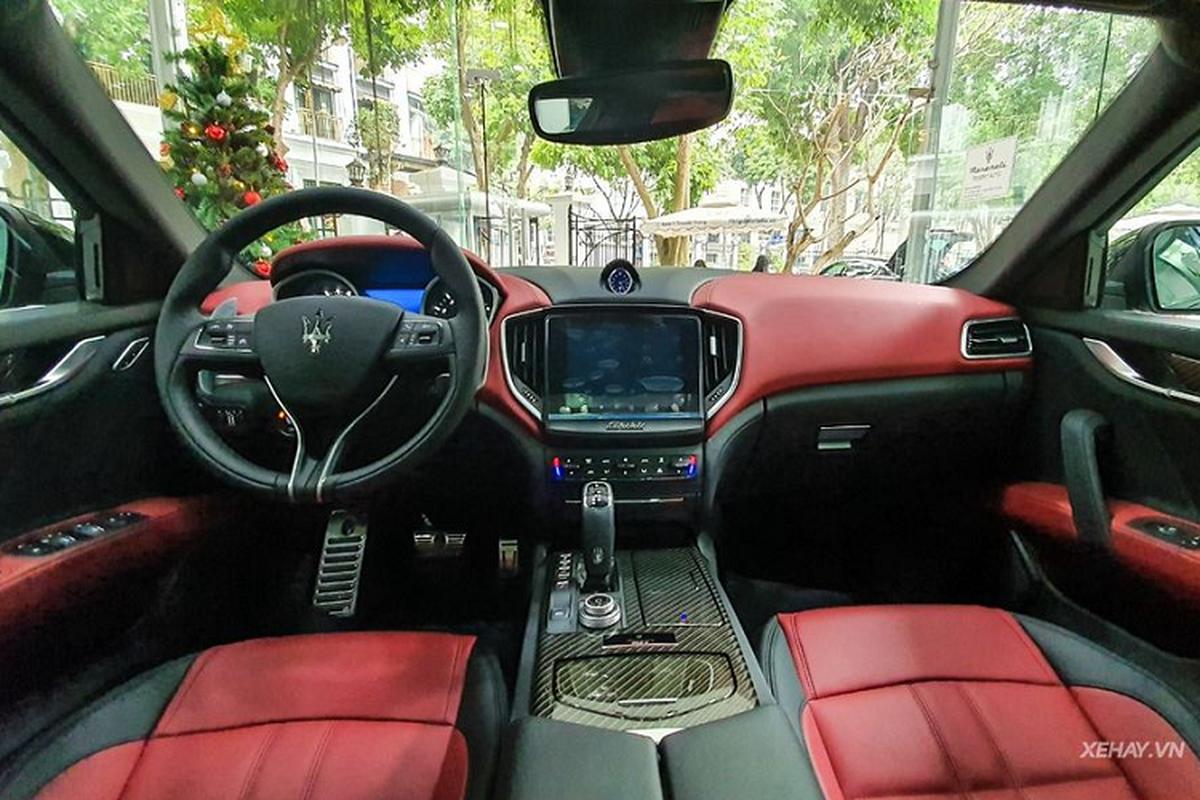 Chiem nguong Maserati Ghibli Ribelle doc nhat tai Viet Nam-Hinh-3