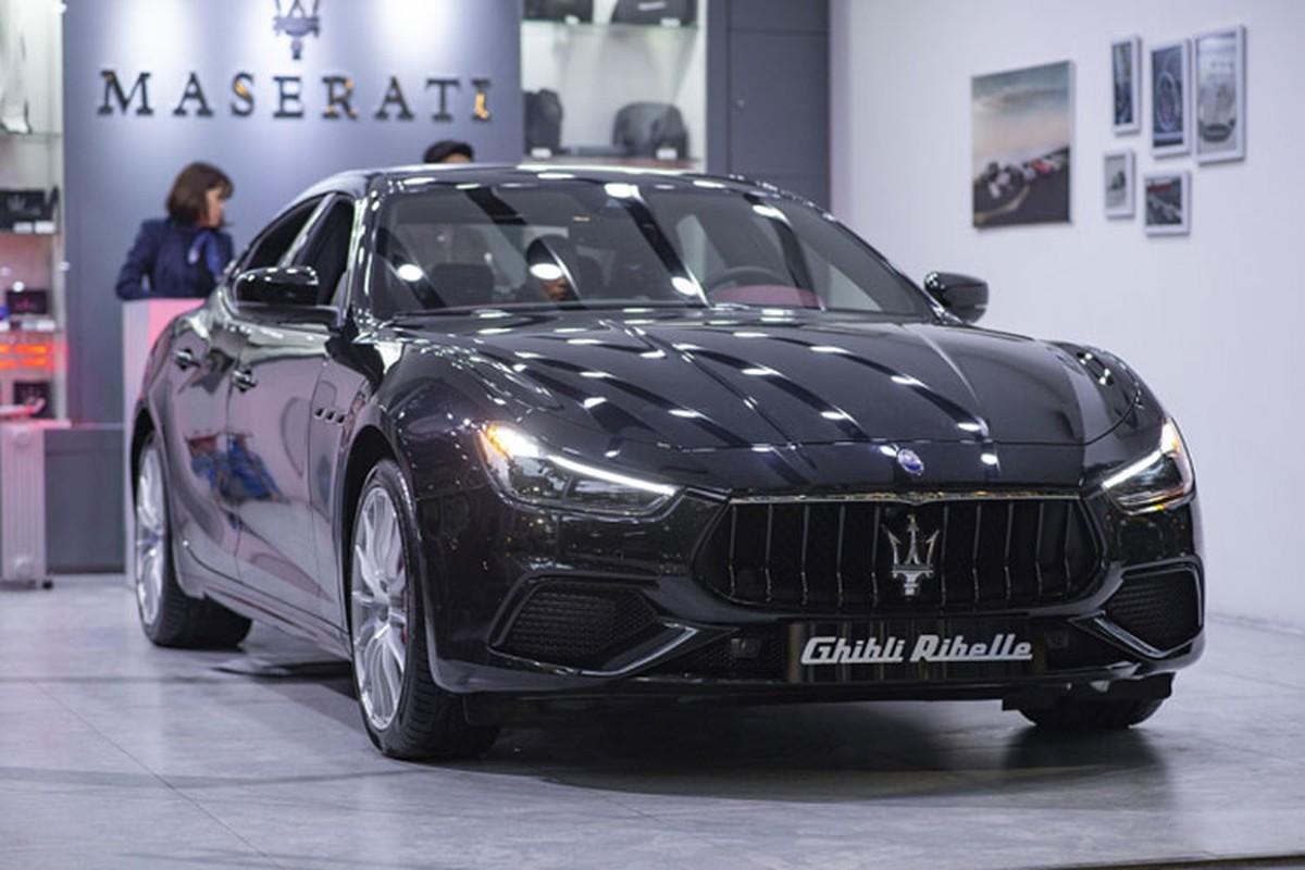 Chiem nguong Maserati Ghibli Ribelle doc nhat tai Viet Nam-Hinh-7
