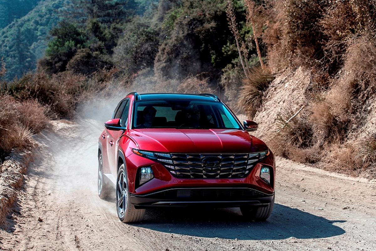 Hyundai Tucson 2022 moi, du doan khoang khoang 577 trieu dong
