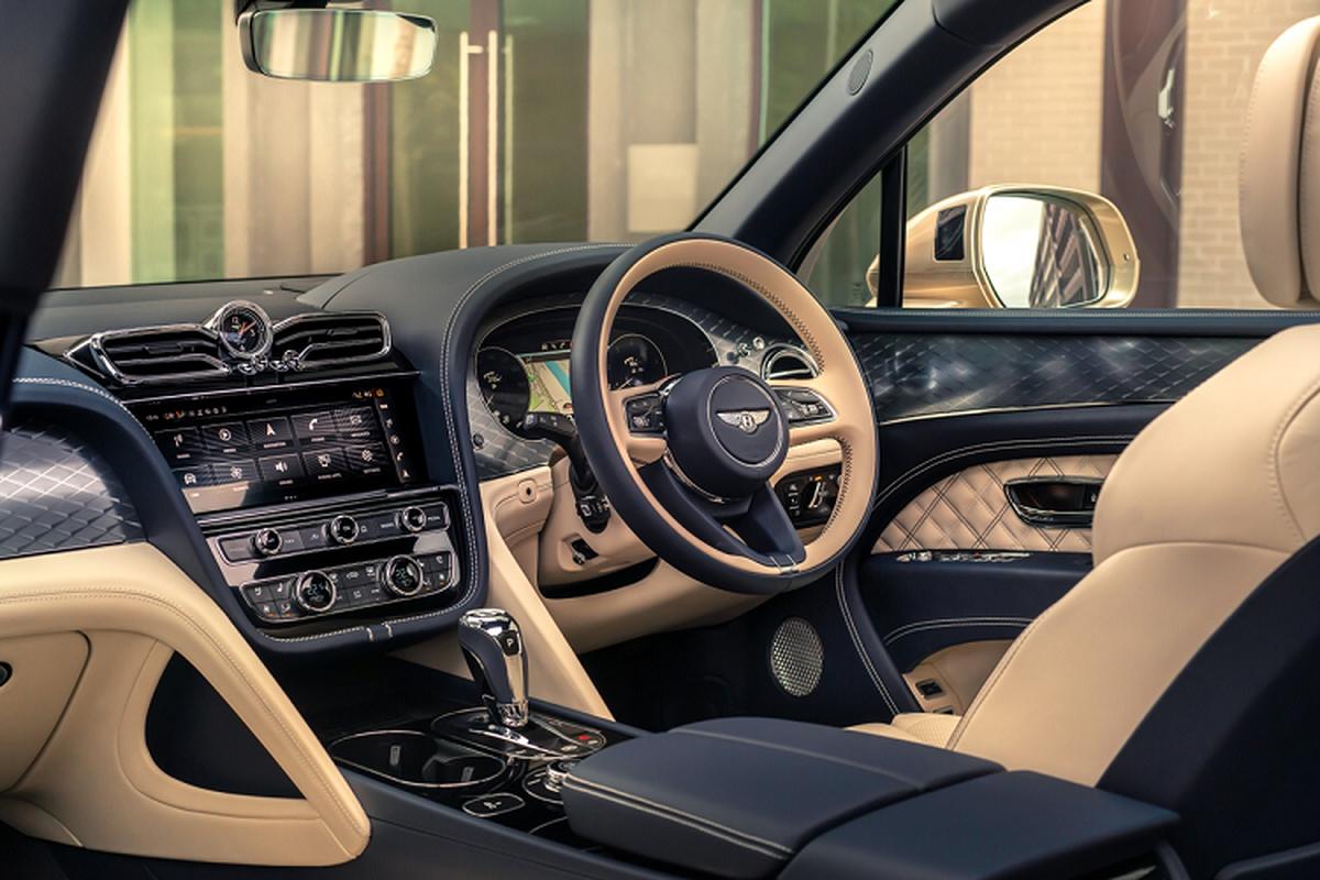 Bentley Bentayga Hybrid 2021, xe sieu sang tiet kiem xang trinh lang-Hinh-5