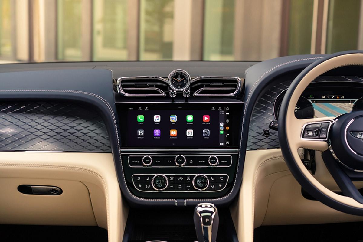 Bentley Bentayga Hybrid 2021, xe sieu sang tiet kiem xang trinh lang-Hinh-6