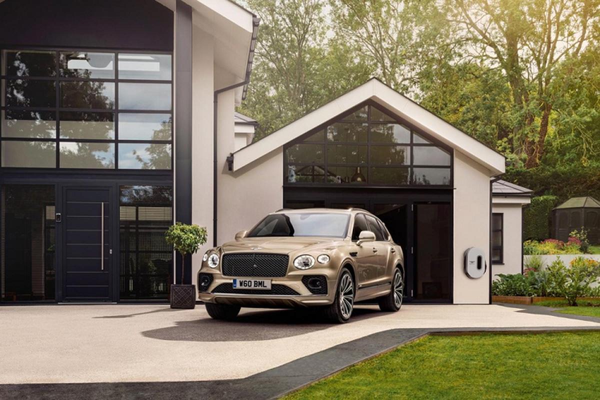 Bentley Bentayga Hybrid 2021, xe sieu sang tiet kiem xang trinh lang