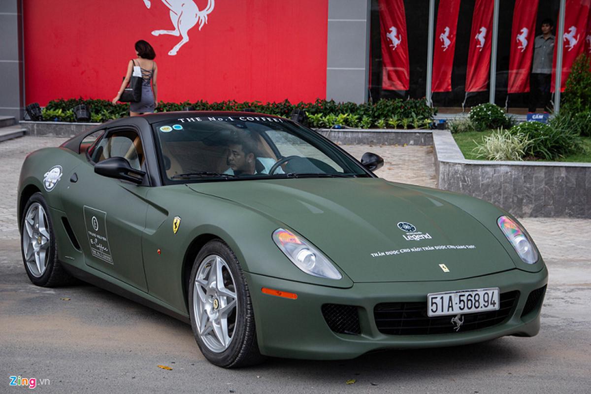 Dai gia Dang Le Nguyen Vu ban Ferrari 599 GTB sieu hiem