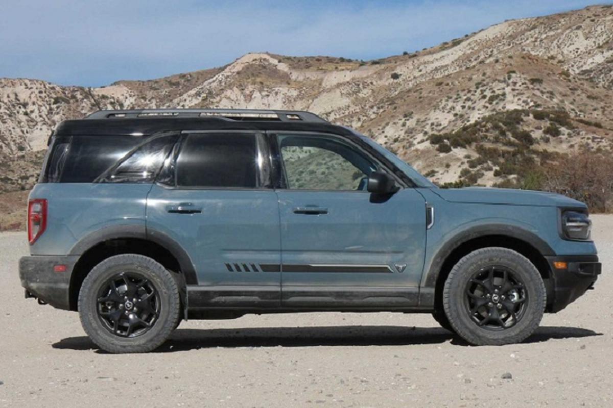 Ford Bronco Sport dam chat SUV dia hinh hon nho