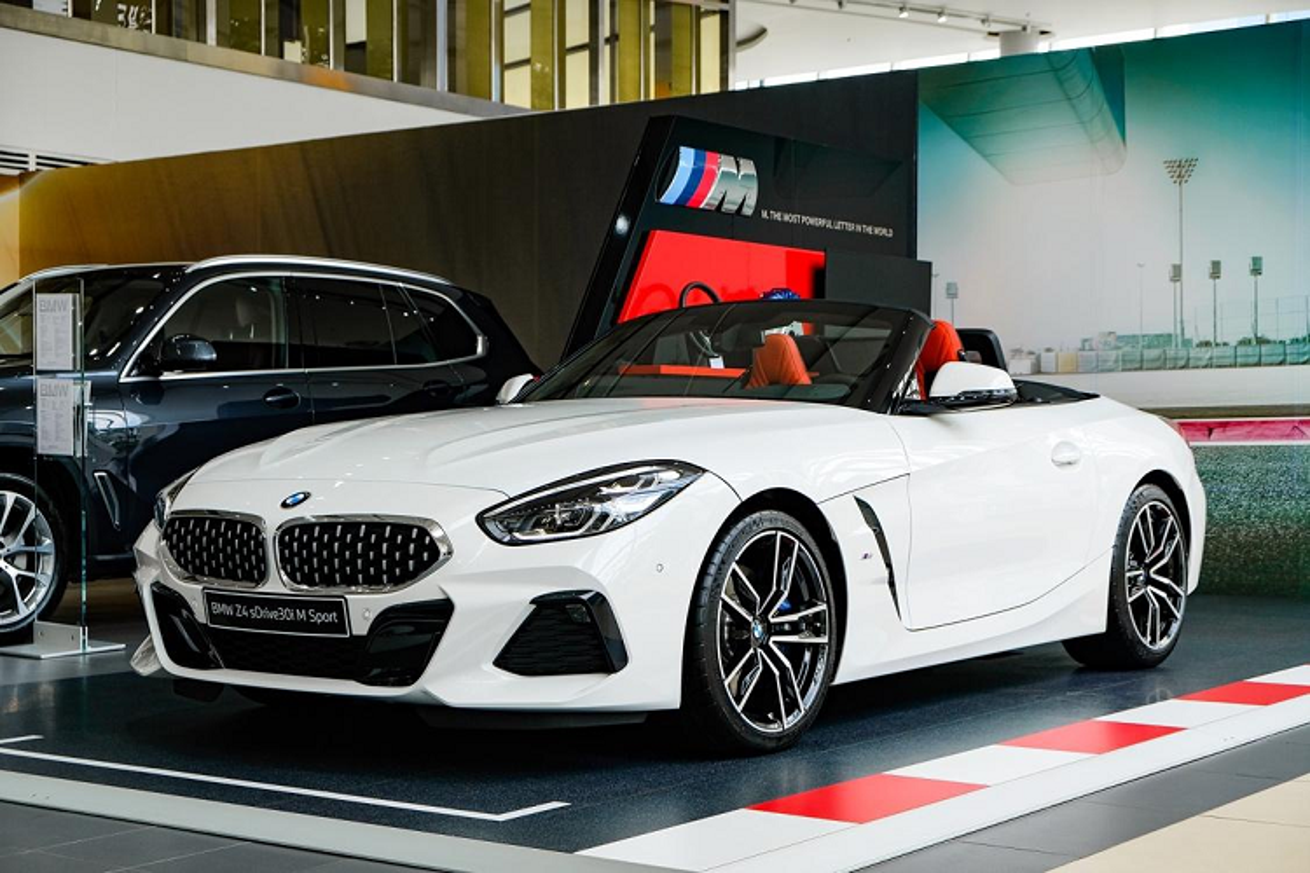 Chi tiet BMW Z4 2021 chinh hang, hon 3,3 ty tai Viet Nam