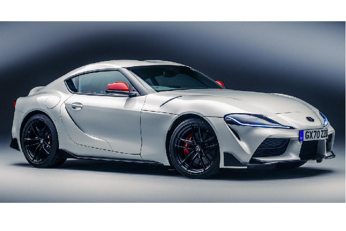 Toyota GR Supra ban dac biet tu 63.388 USD tai Anh