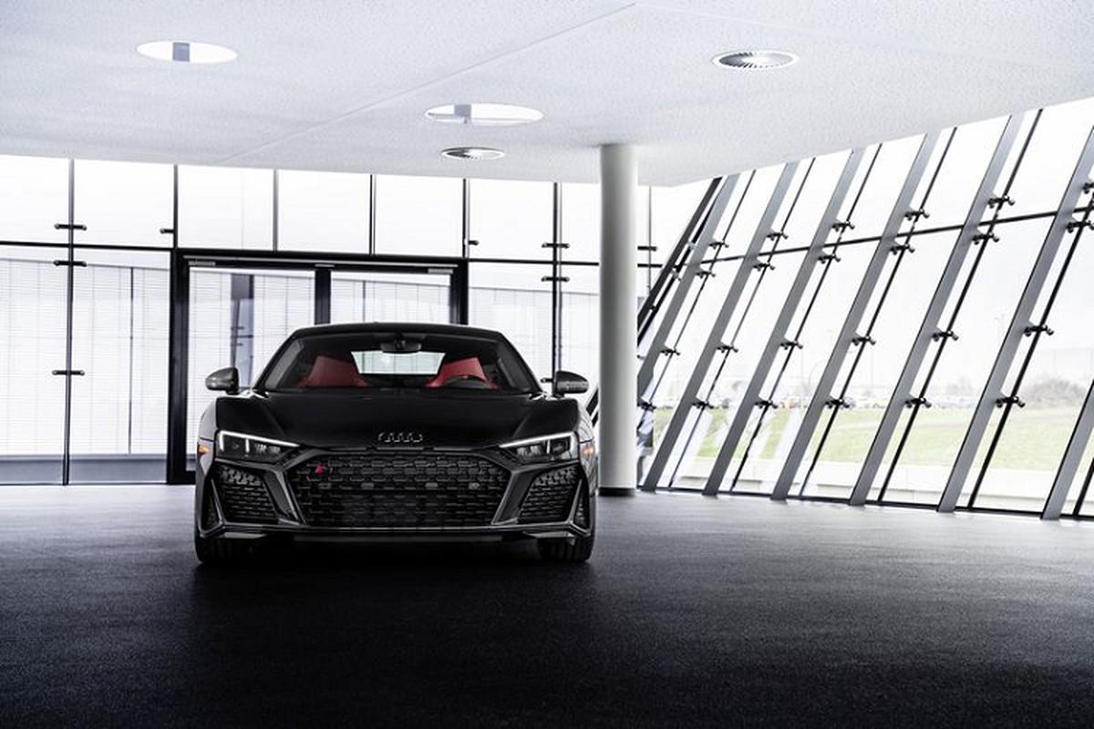 Audi R8 2021 Black Panther cuc ngau, chi 30 chiec tren toan the gioi-Hinh-2