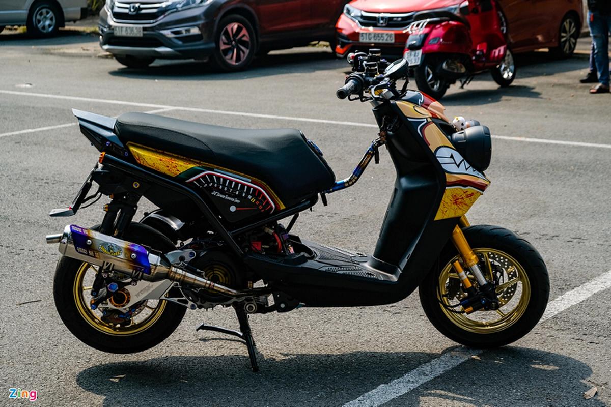 Dan choi Sai Gon do xe ga Yamaha BWS hon 200 trieu-Hinh-3