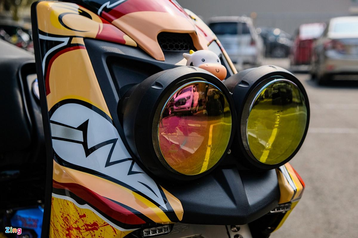 Dan choi Sai Gon do xe ga Yamaha BWS hon 200 trieu-Hinh-4