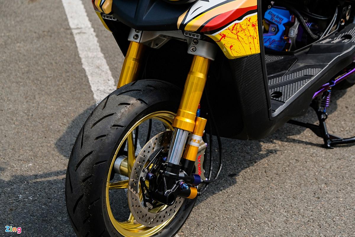 Dan choi Sai Gon do xe ga Yamaha BWS hon 200 trieu-Hinh-7