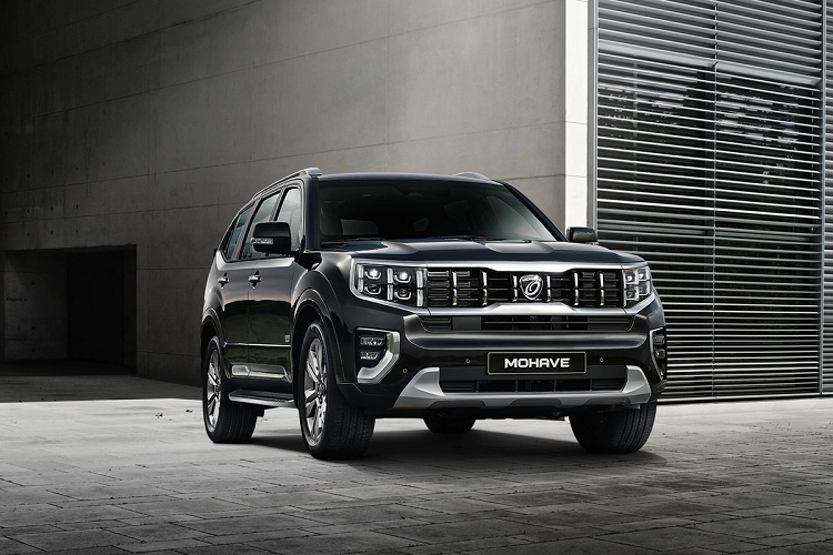 Chi tiet SUV Kia Mohave 2021 tu 1,03 ty dong tai Han Quoc