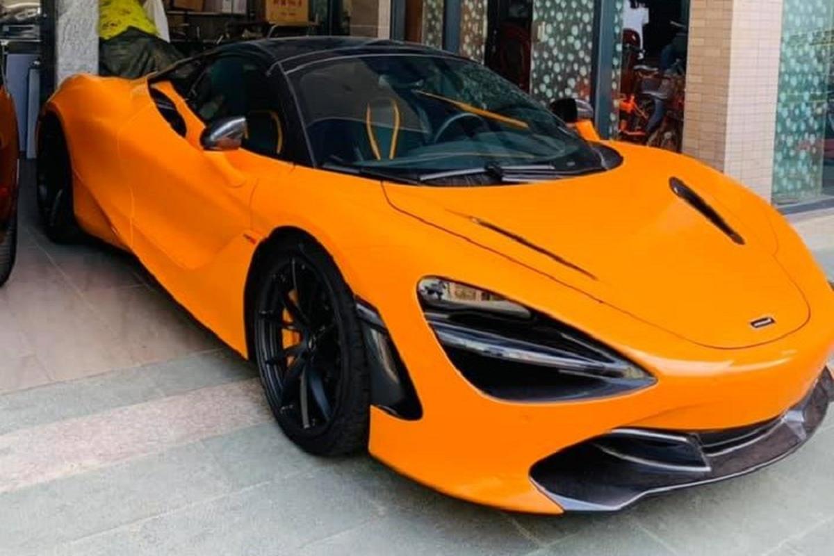 Dai gia Vung Tau tau sieu xe McLaren 720S Spider hon 23 ty