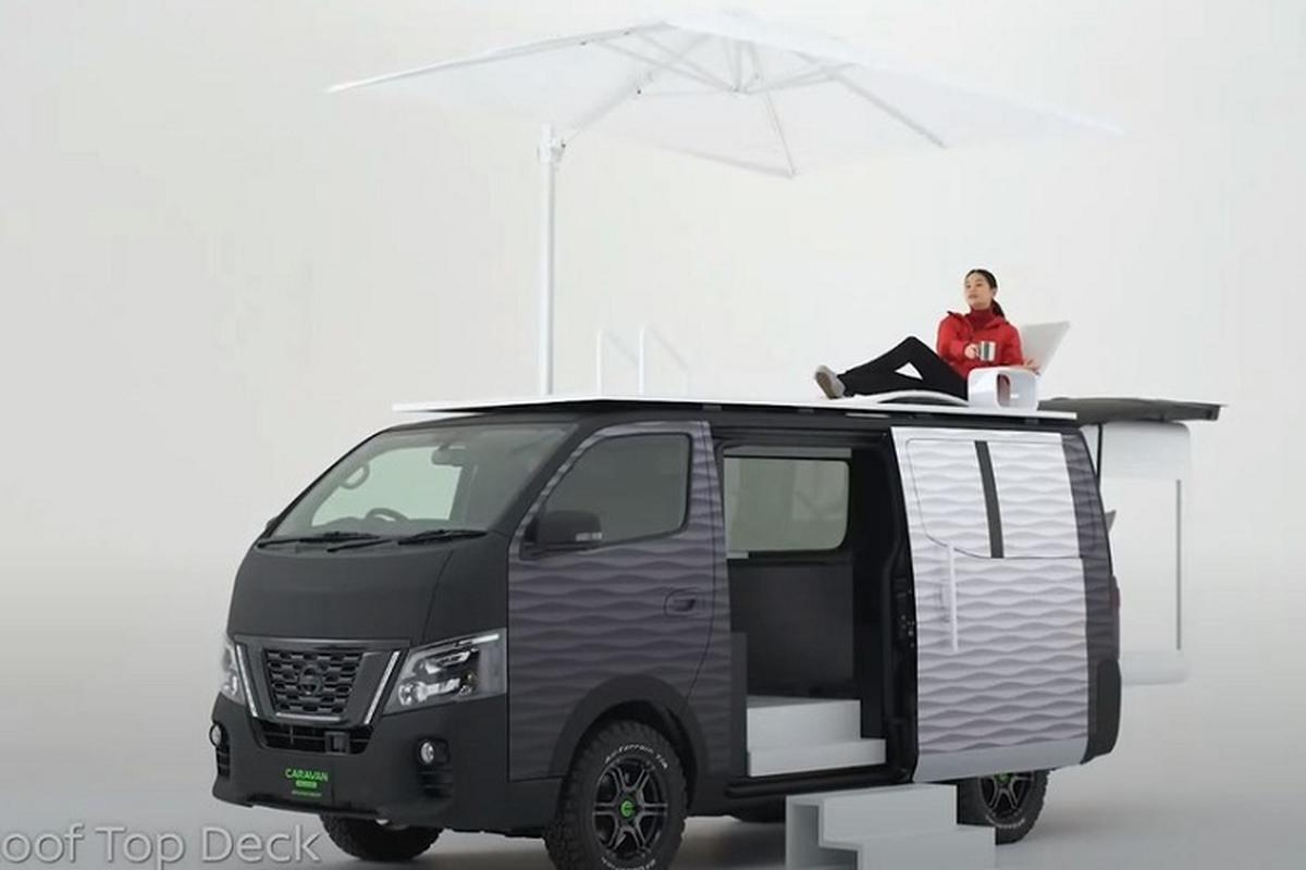 """Nissan """"Office Pod"""" - van phong di dong sieu tien loi ra mat-Hinh-6"""