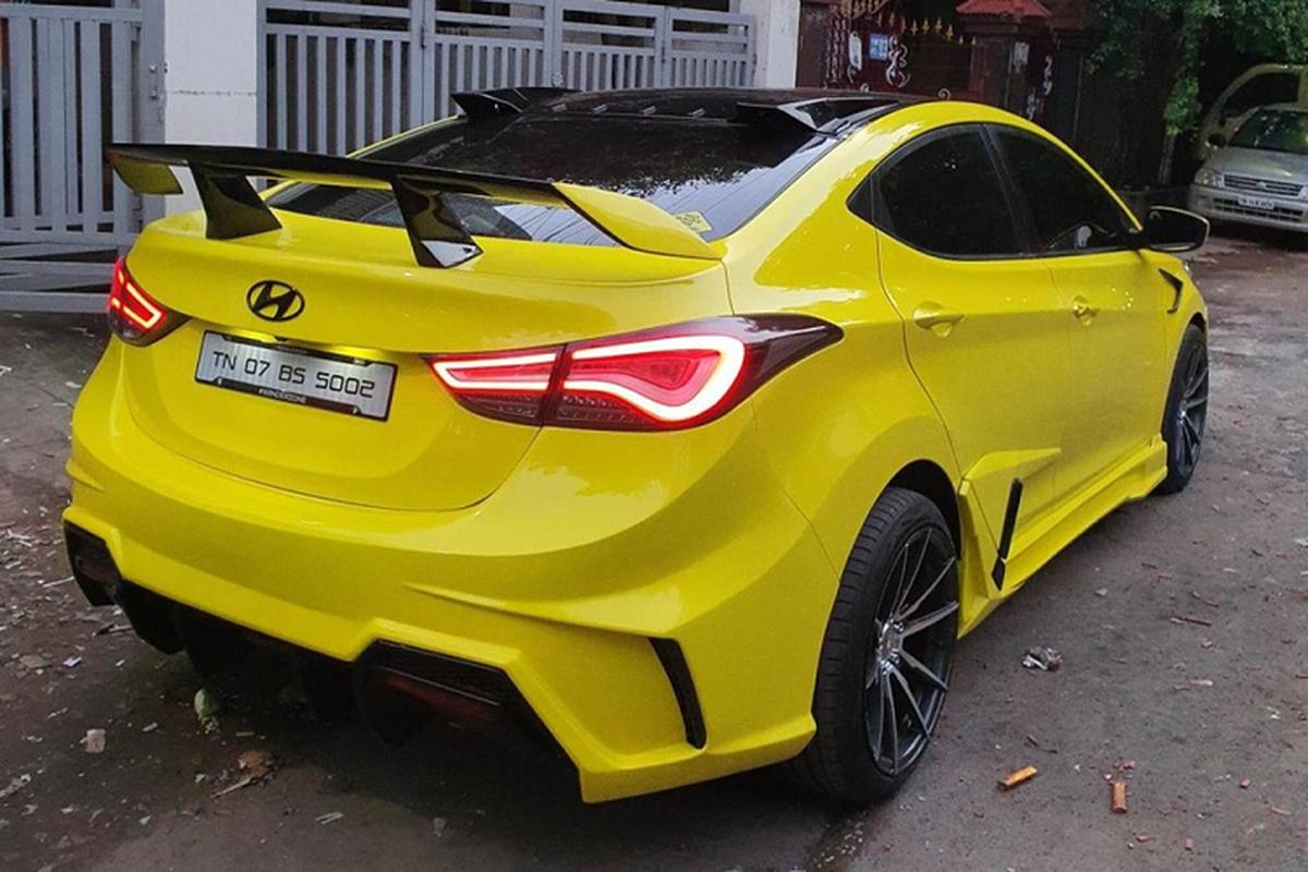 "Hyundai Elantra ""cuc ngau"" lay cam hung tu sieu xe Lamborghini-Hinh-2"