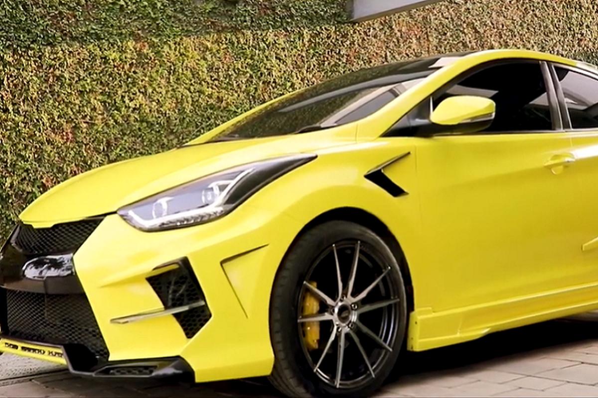 "Hyundai Elantra ""cuc ngau"" lay cam hung tu sieu xe Lamborghini-Hinh-7"