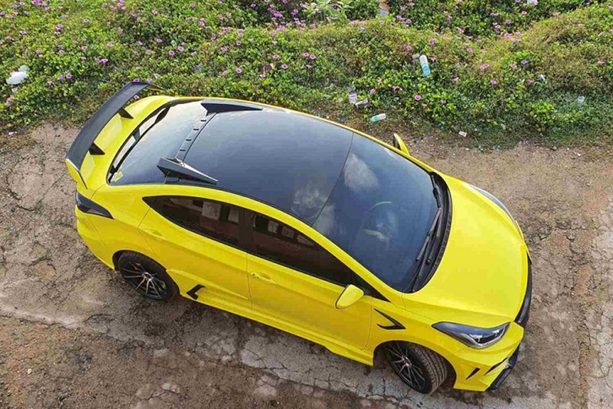 "Hyundai Elantra ""cuc ngau"" lay cam hung tu sieu xe Lamborghini-Hinh-8"