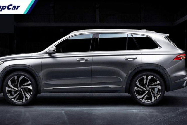 """SUV Trung Quoc Geely KX11 lo dien, """"hao hao"""" xe sang Volvo XC90-Hinh-4"""