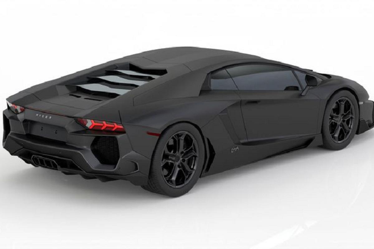 "Lamborghini Aventador ""len do"" du dan trong sac den mo huyen bi-Hinh-2"