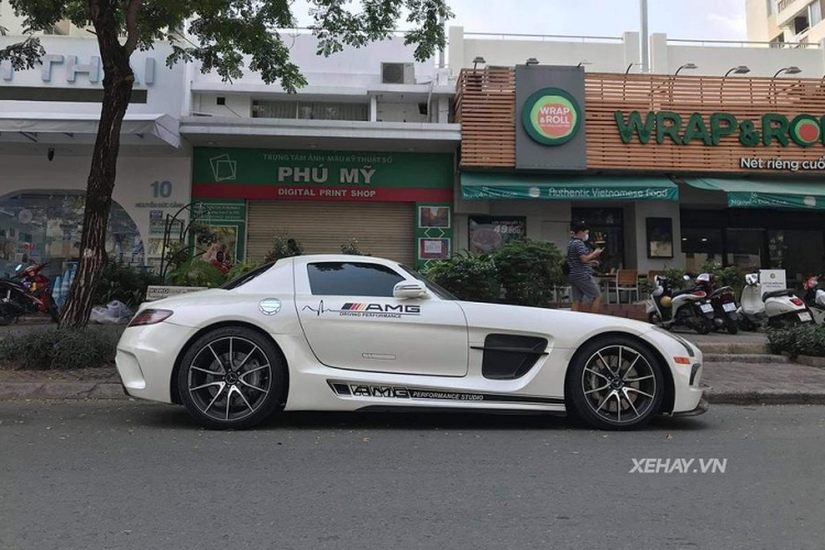 Ngam sieu pham Mercedes-AMG SLS hang hiem lan banh o Sai Gon-Hinh-2