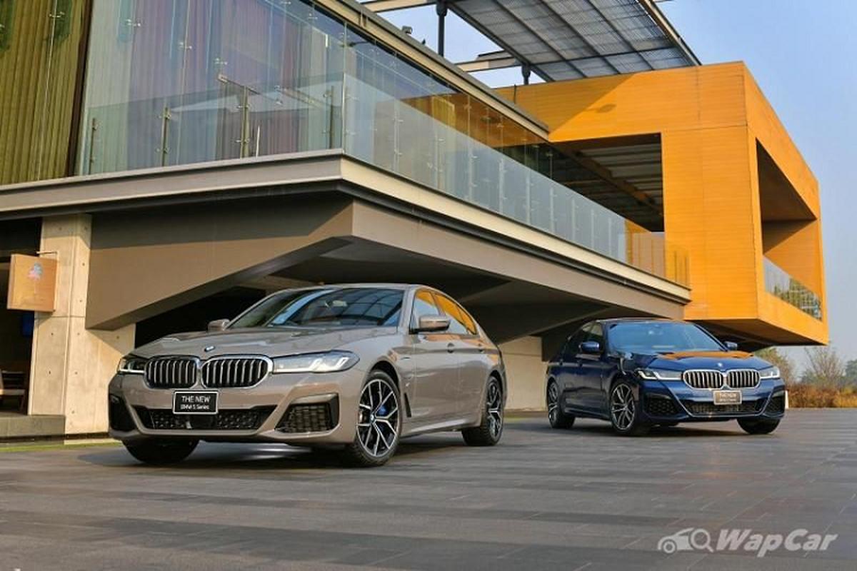 Chi tiet BMW 5 Series 2021 lap rap Thai Lan, tu 2,3 ty dong-Hinh-2