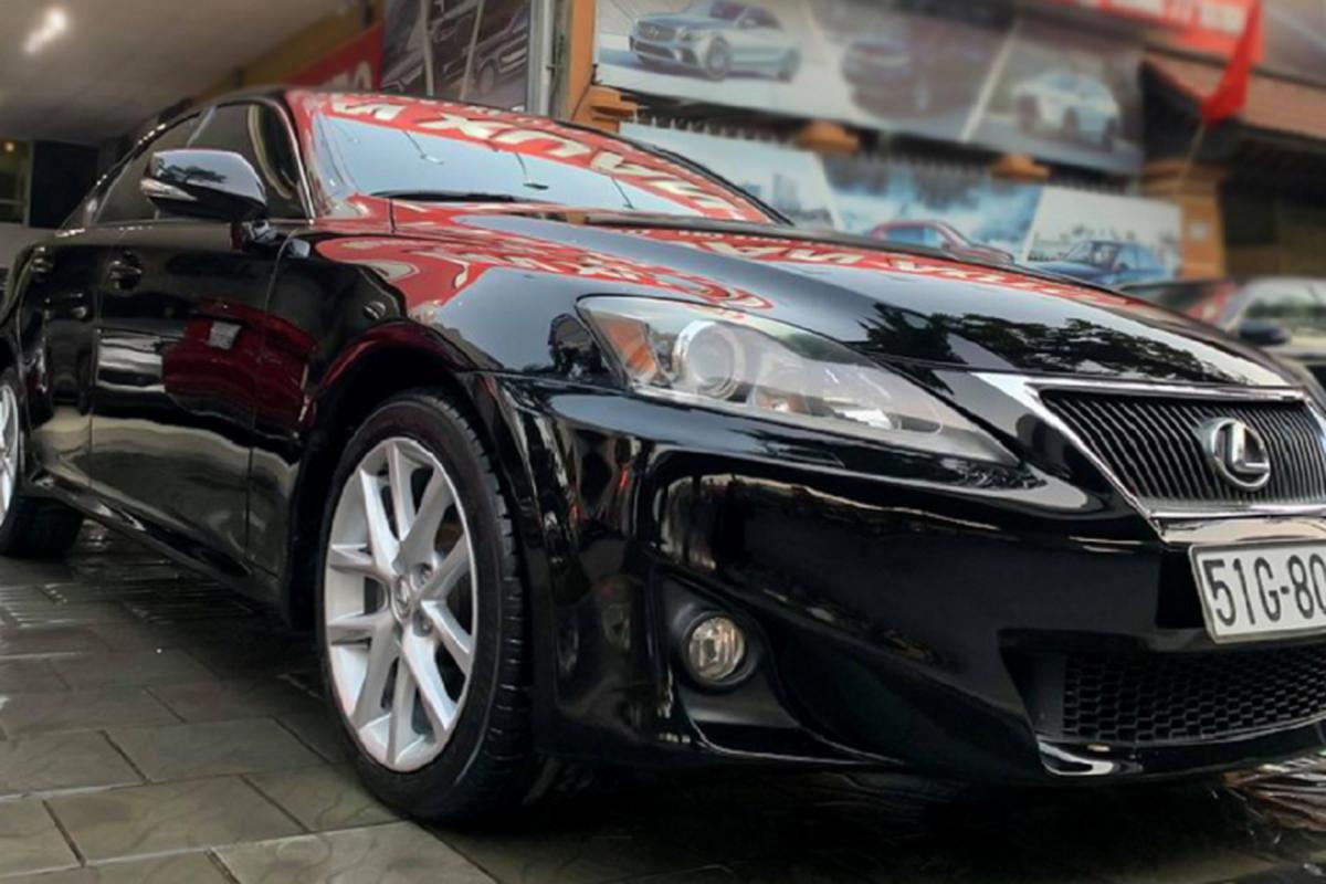Can canh Lexus IS 2010 chay chan, ban van gan 1 ty o Sai Gon-Hinh-2