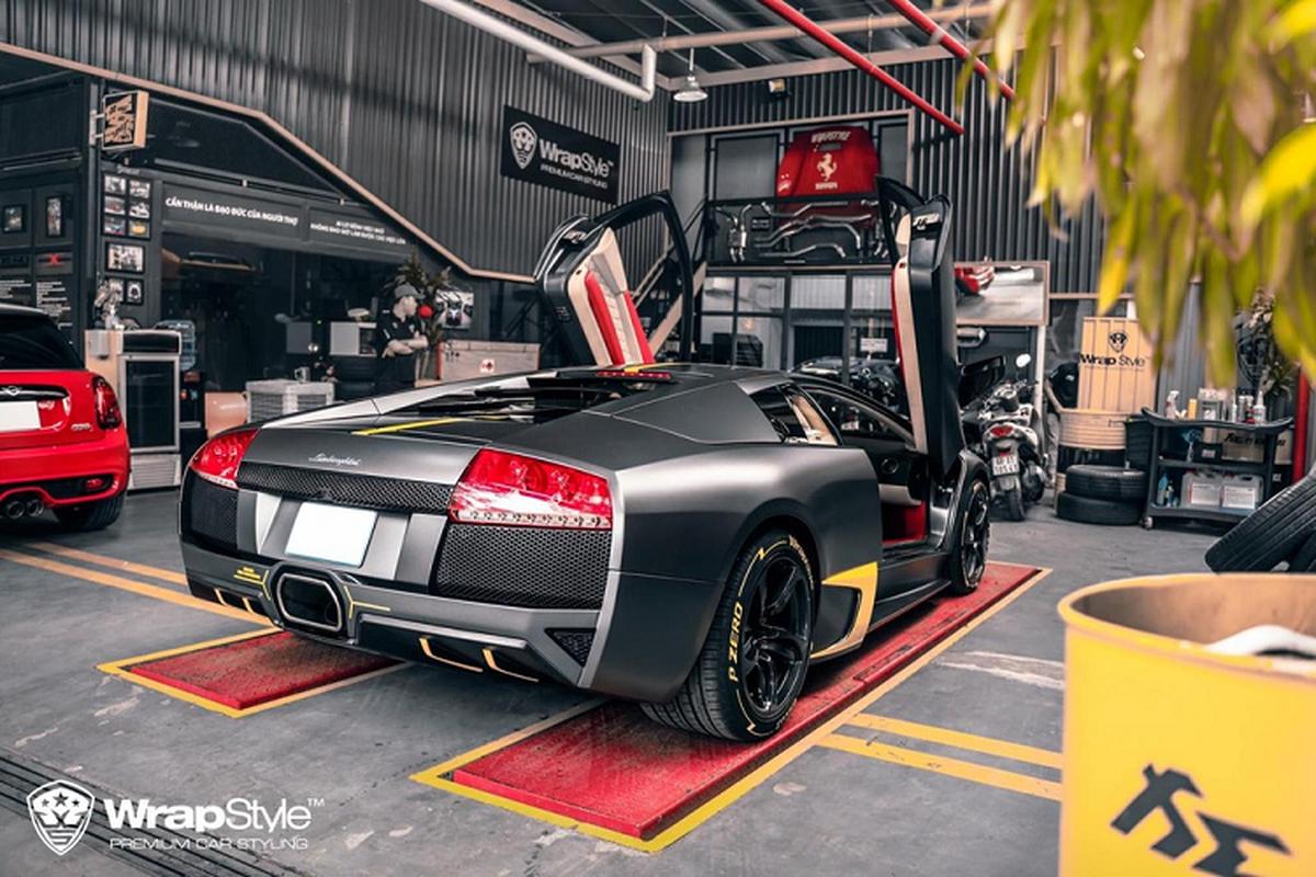 "Ngam ""bo gia"" Lamborghini Murcielago do Reventon trieu do o Sai Gon-Hinh-4"