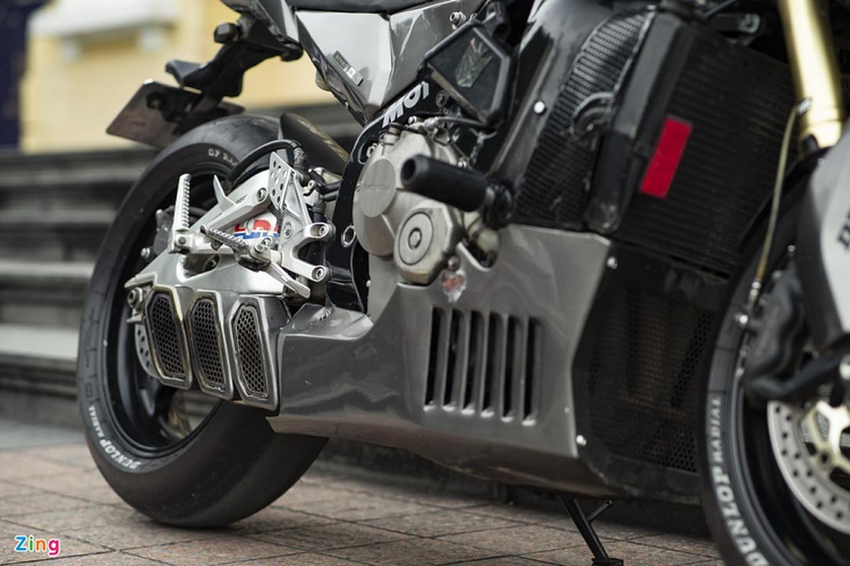 Xem dan choi Ha Noi do Honda CBR600RR phong cach streetfighter-Hinh-8
