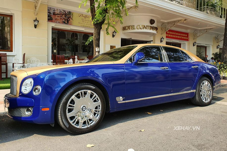 Bentley Mulsanne tien ty,