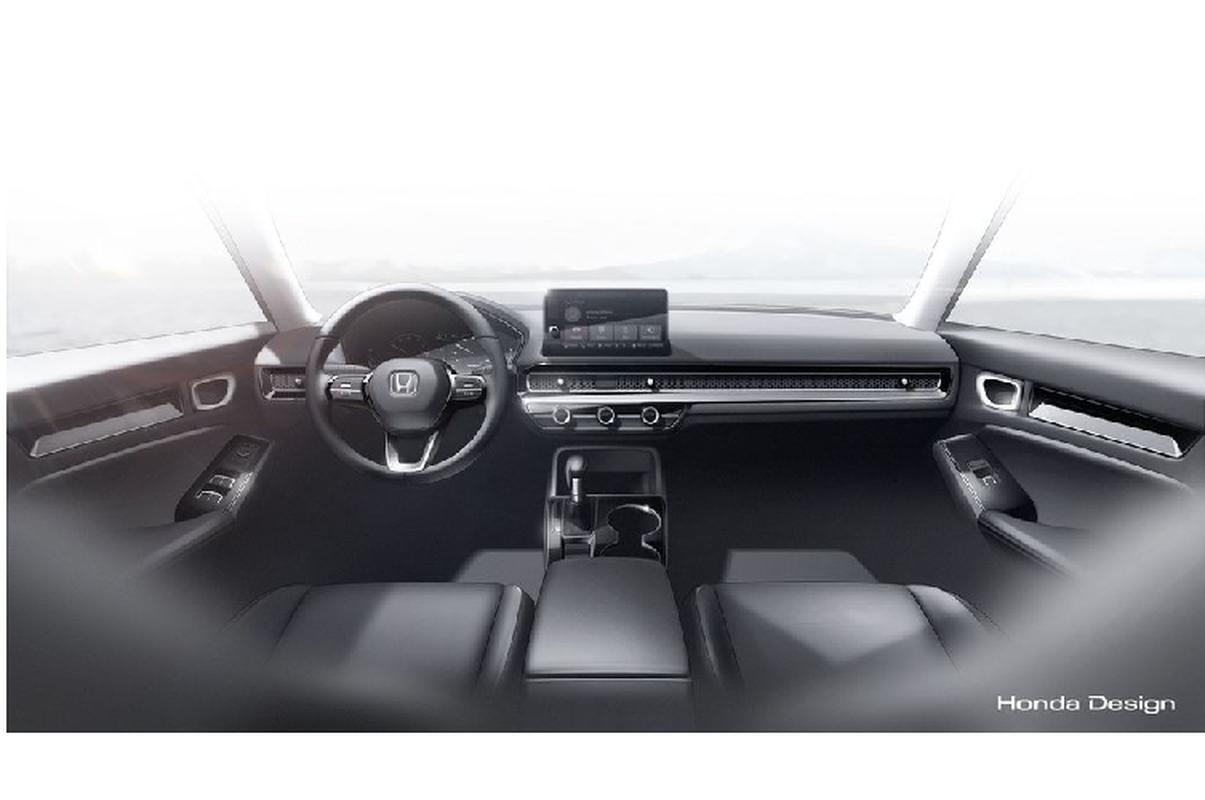 Honda Civic 2022 lo dien tai Viet Nam,