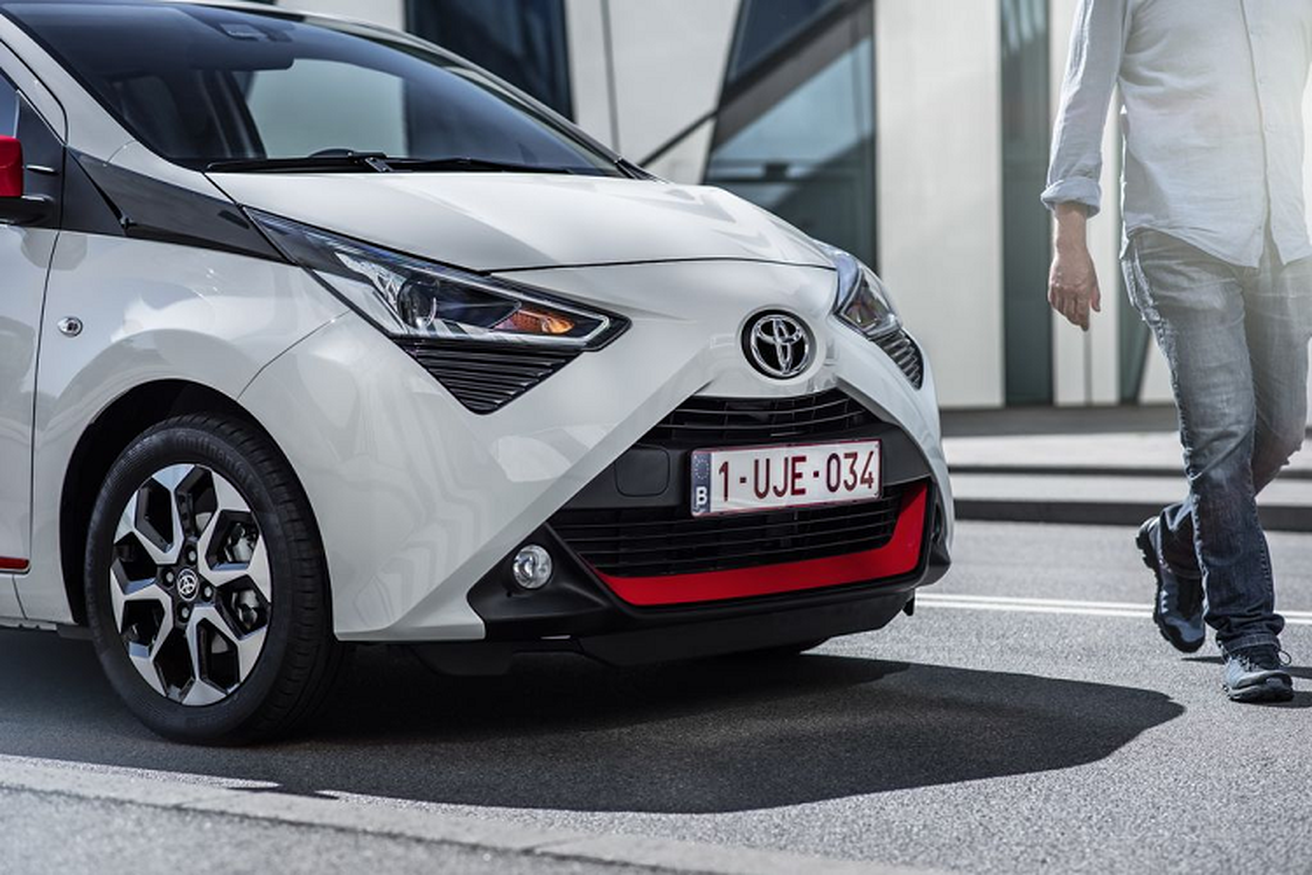 """Toyota Aygo 2021 sap ve Viet Nam - """"xe choi"""" gan 800 trieu dong-Hinh-3"""