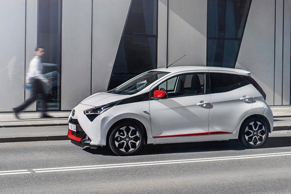 """Toyota Aygo 2021 sap ve Viet Nam - """"xe choi"""" gan 800 trieu dong-Hinh-6"""