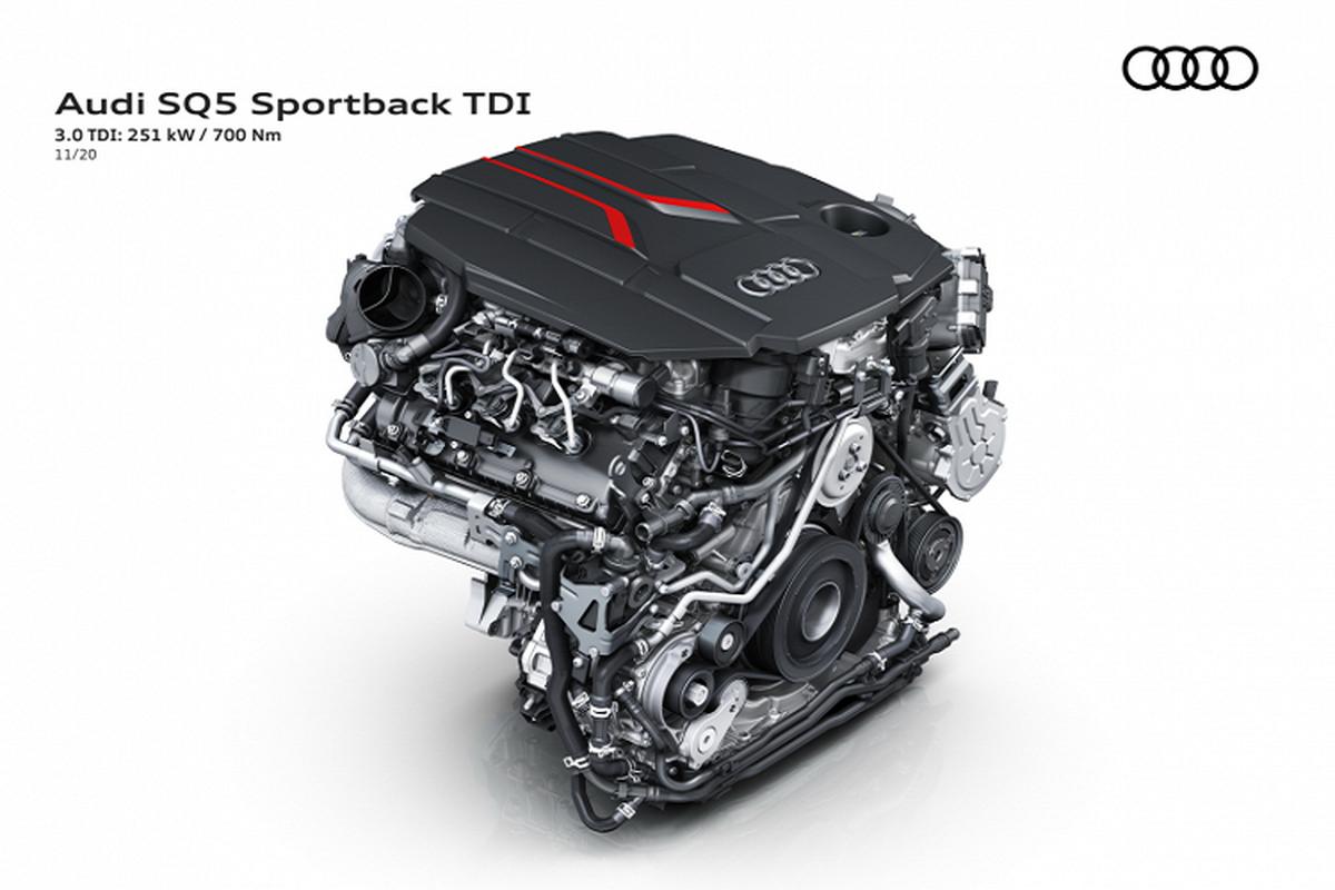 Audi SQ5 Sportback 2021, SUV lai coupe manh 336 ma luc-Hinh-6