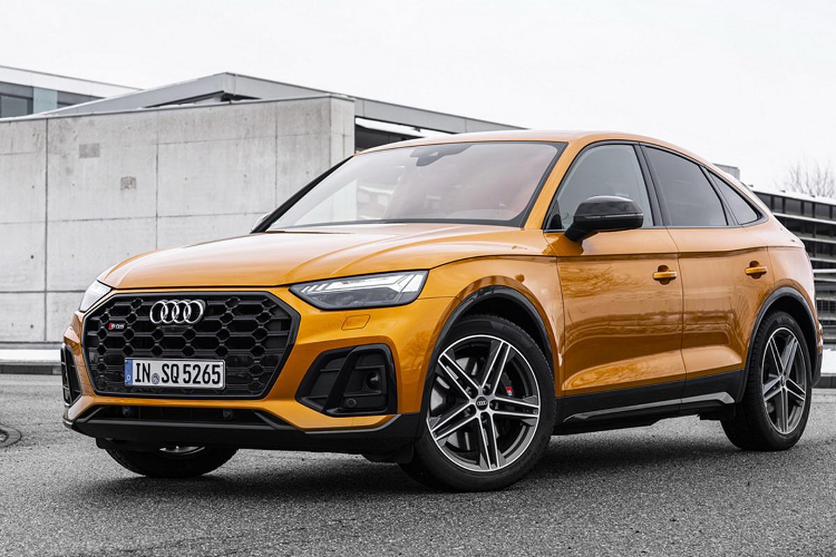 Audi SQ5 Sportback 2021, SUV lai coupe manh 336 ma luc-Hinh-7